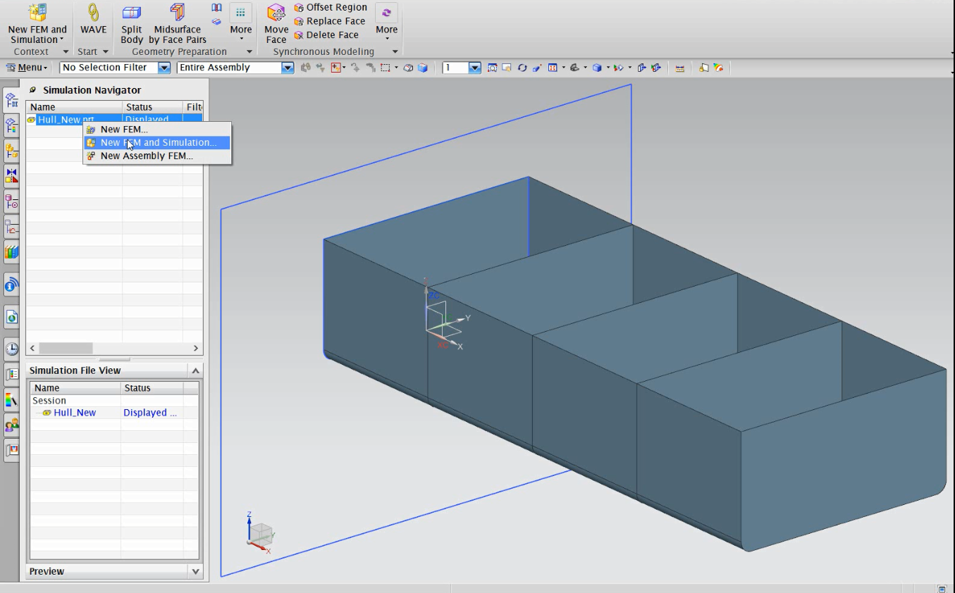 Tutorial-FEM Setup and Analysis of the Parametric Model