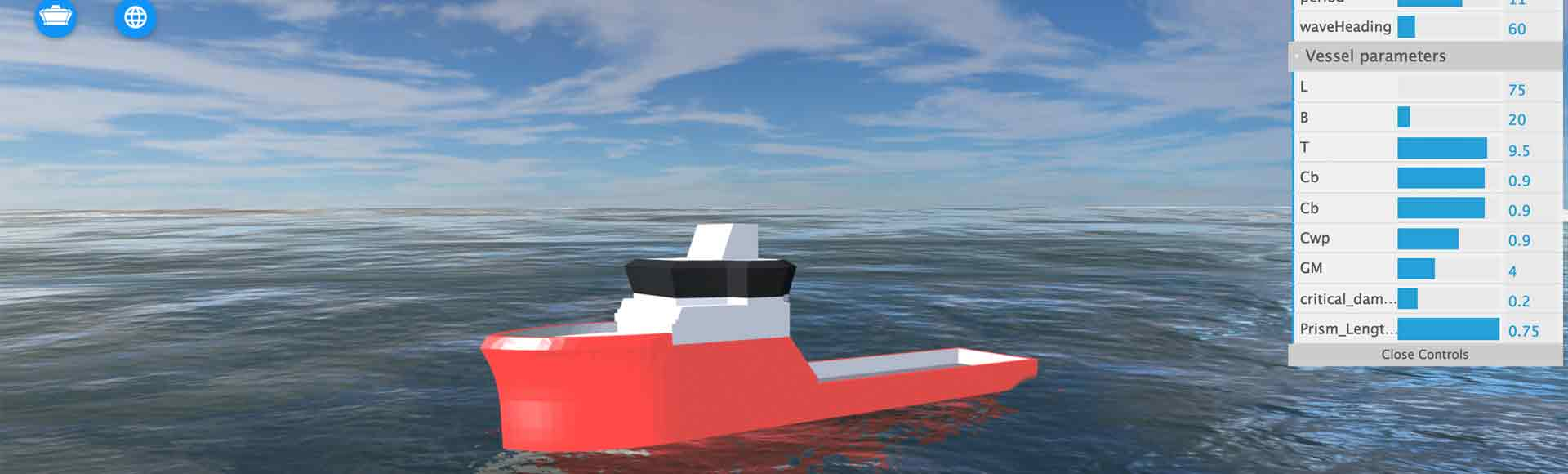 Ship Virtual Simulator